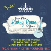 Virtual Tosco Music Party August 29