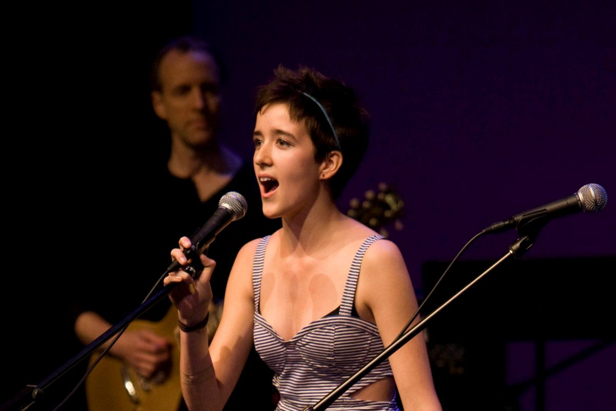 Abby Corrigan at Beatles Tribute 2012 image